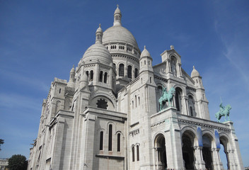 Stock Photo: Coeur Basilica in Paris