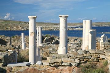 Delos Ruins, Greece