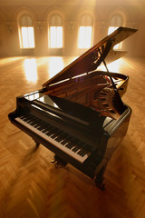 Grand Piano in Light II