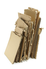 Stack of Cardboard Pieces