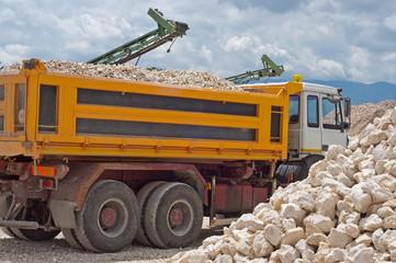 produzione e trasporto ciottoli