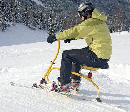 Funsport Snowbiking