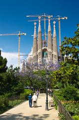 Sagrada Familia church in Barcelona