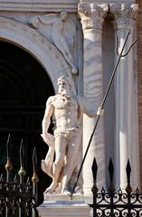 Neptune - The door of lion, Arsenal of Venice