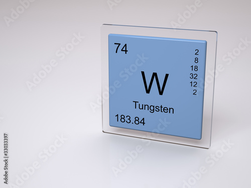 Tungsten symbol w chemical element of the periodic table stock tungsten symbol w chemical element of the periodic table urtaz Images