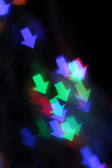 Blurred background with lights