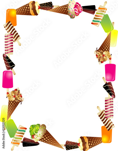 Cornice Gelato Stock Image And Royalty Free Vector Files On Fotolia