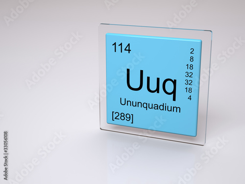 ununquadium uuq chemical element of the periodic table - Periodic Table Symbol Ununquadium