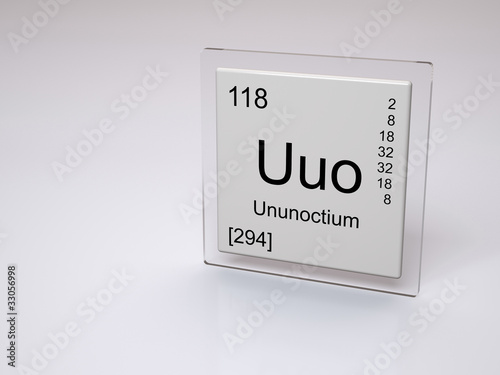 Ununoctium symbol uuo chemical element of the periodic table ununoctium symbol uuo chemical element of the periodic table urtaz Choice Image