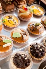 petites tartes appétissantes