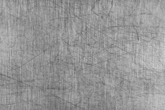 Grey Scratched Aluminium Table Board