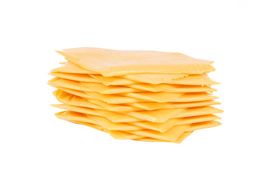 Slices of American Cheese