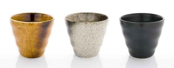 Obraz 陶器製のコップ - fototapety do salonu