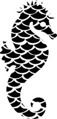 Seahorse Black