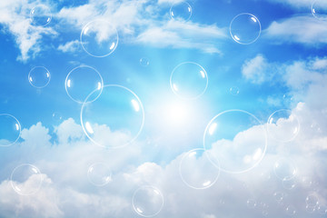 Bubbles on the sky