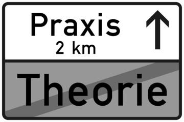 Theorie und Praxis, Verkehrszeichen nach StVO