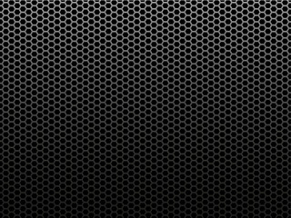 Honeycomb metal background