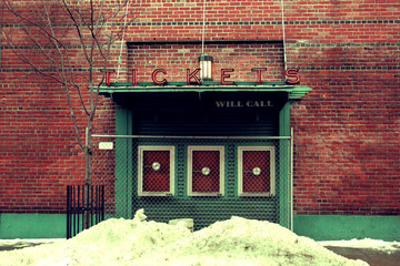 Ticket Booth, Fenway Park
