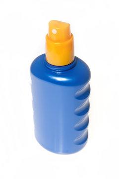 Sonnencreme Sprühflasche
