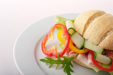 Close-up of a sandwich