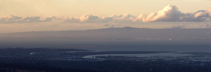 Dumbarton Bridge, San Francisco Bay