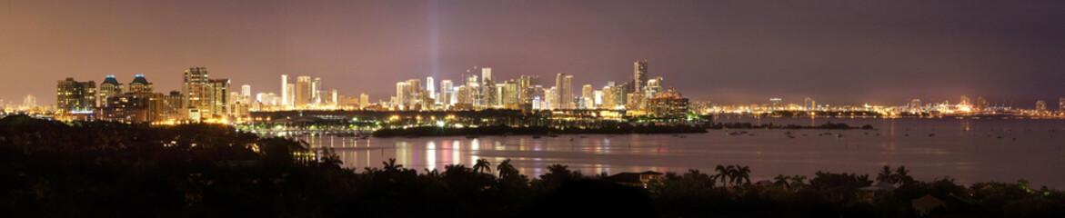 Miami Waterfront Panorama