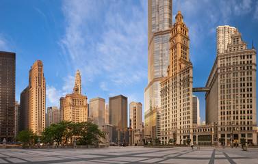 Photo sur Toile Chicago Architecture of Chicago.