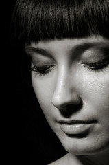 Pretty young  woman portrait