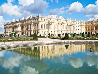 Reflection of Palace of Versailles