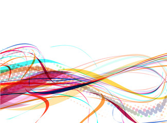 abstract wave line background
