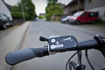 e-bike straße,