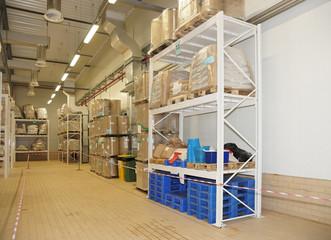 Large food warehouse