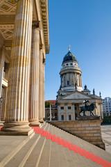 Columns at the Gendarmenmarkt in Berlin