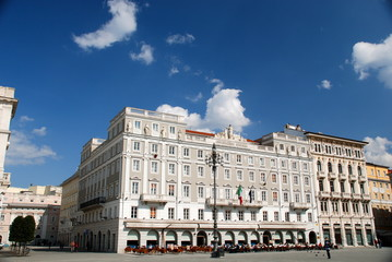 Trieste, Piazza Unità D'Italia