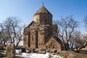 Armenian church at Akdamar, Turkey