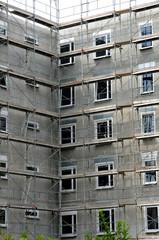 immeuble en chantier à Strasbourg