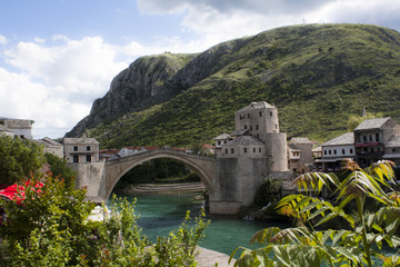 Mostar bridge, Bosnia and Hercegovina