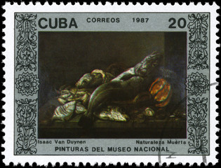 CUBA - CIRCA 1987 Still-life