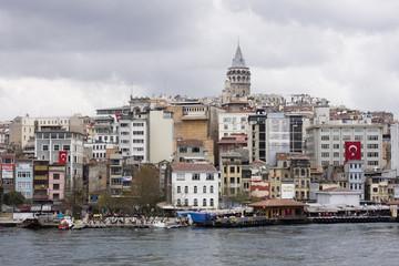 Panorama - Torre Galata e case