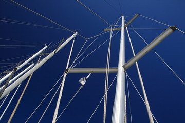 Alberi barche a vela, Cagliari