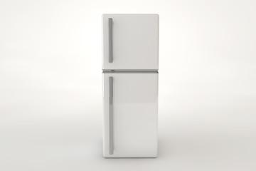 Grey refrigerator