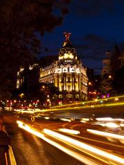 Metropolis Building in Gran Via, Madrid