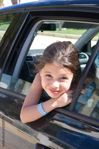 Отсос из окна машины