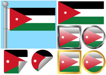 Flag Set Jordan