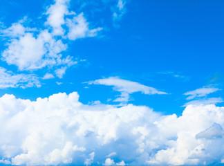 Scene Clouds Sunshine
