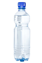 A bottle of clean water