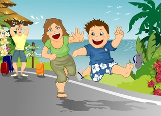 In vacanza con figli terribili
