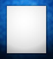 Blue Rough Pattern Border