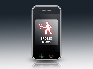 "Smartphone ""Sports News (Tennis)"""