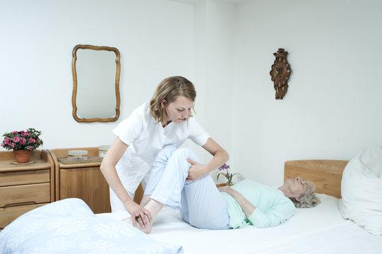 Altenpflege Transfer